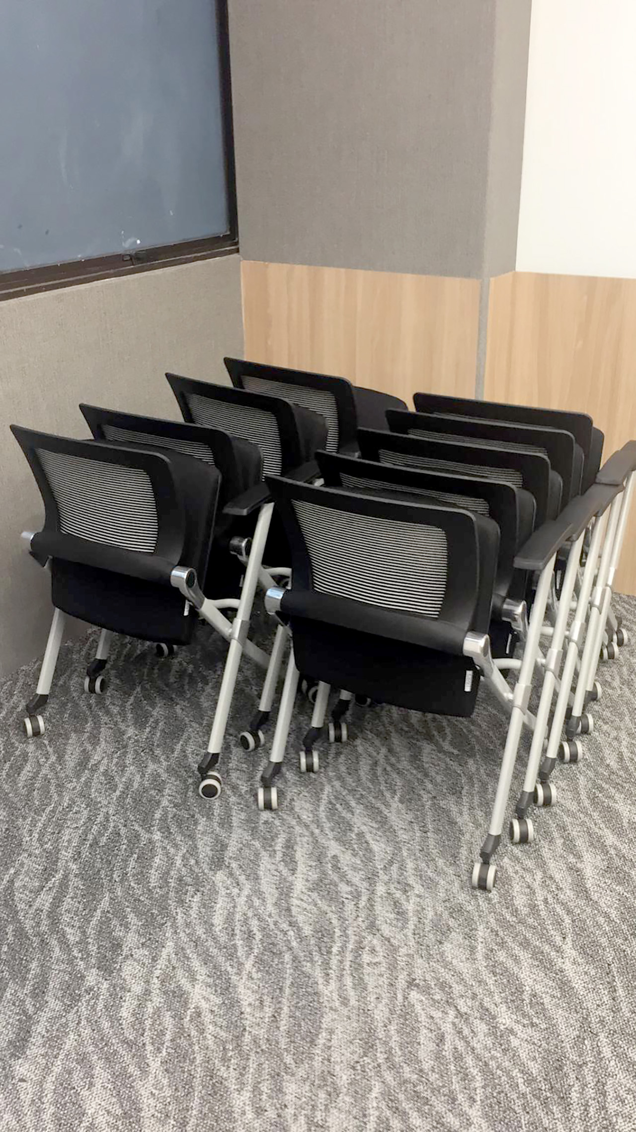 ECON Healthcare Group - Changi Road | Product Seen: [Dynamo Armchair w/ Castors (Nestable)]