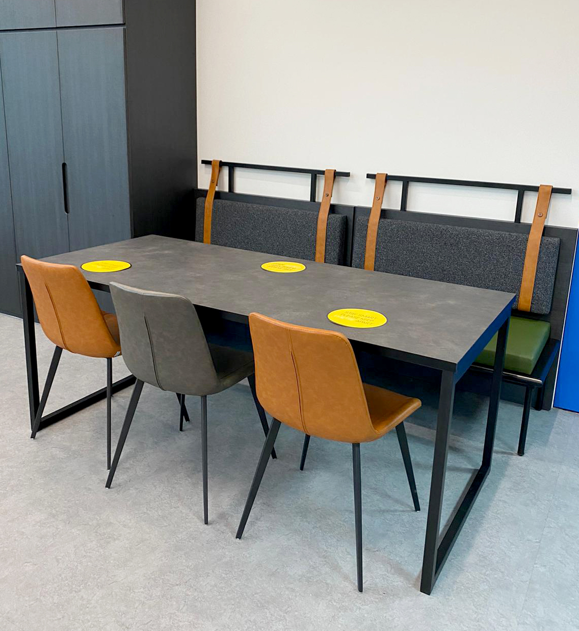 Mettler-Toledo | Product Seen: [Strap booth #2, Ricky Table Base – Customisable & Eunice Side chair]