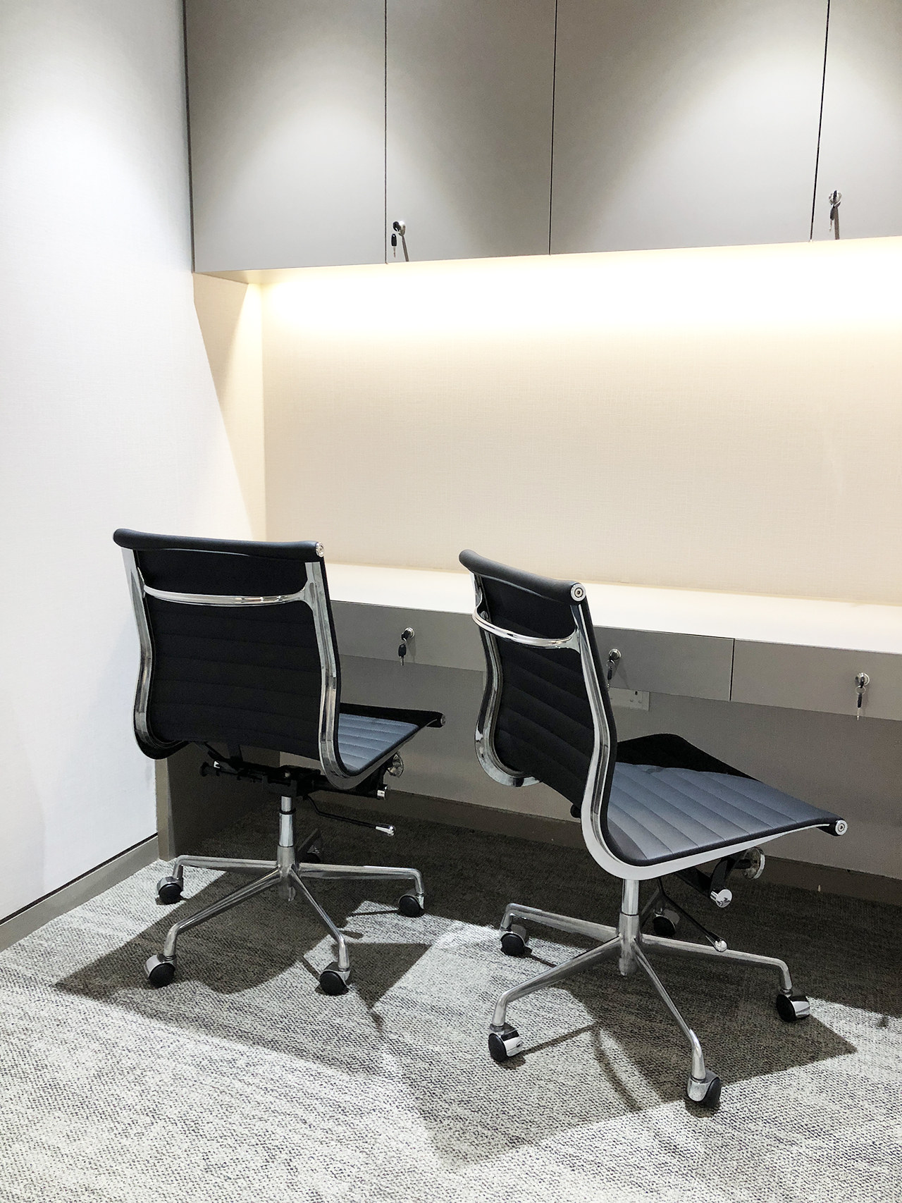 Raffles Hospital - Specialist Clinic | Product Seen: [Eam Aluminium Midback (replica) Office Chair]