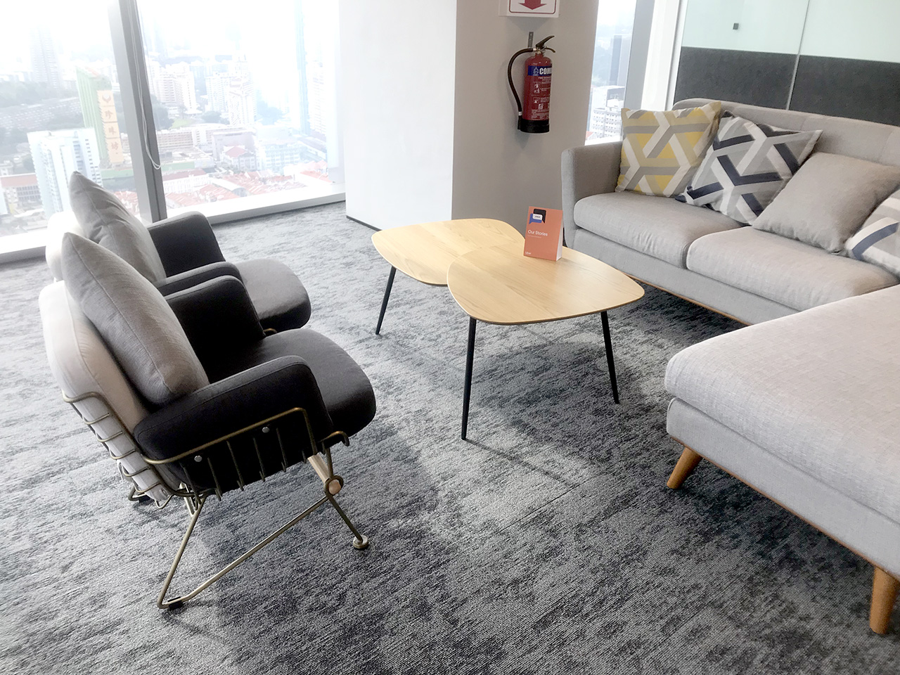 Uber - Frasers Towers | Product Seen: [Uta 1 Seater Lounger & Ridge Coffee Table]