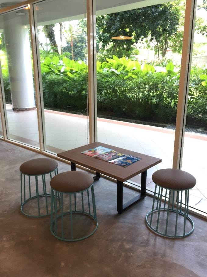 Ngee Ann Polytechnic – Blk 56 The SandBox | Product Seen: [Campus Stool]