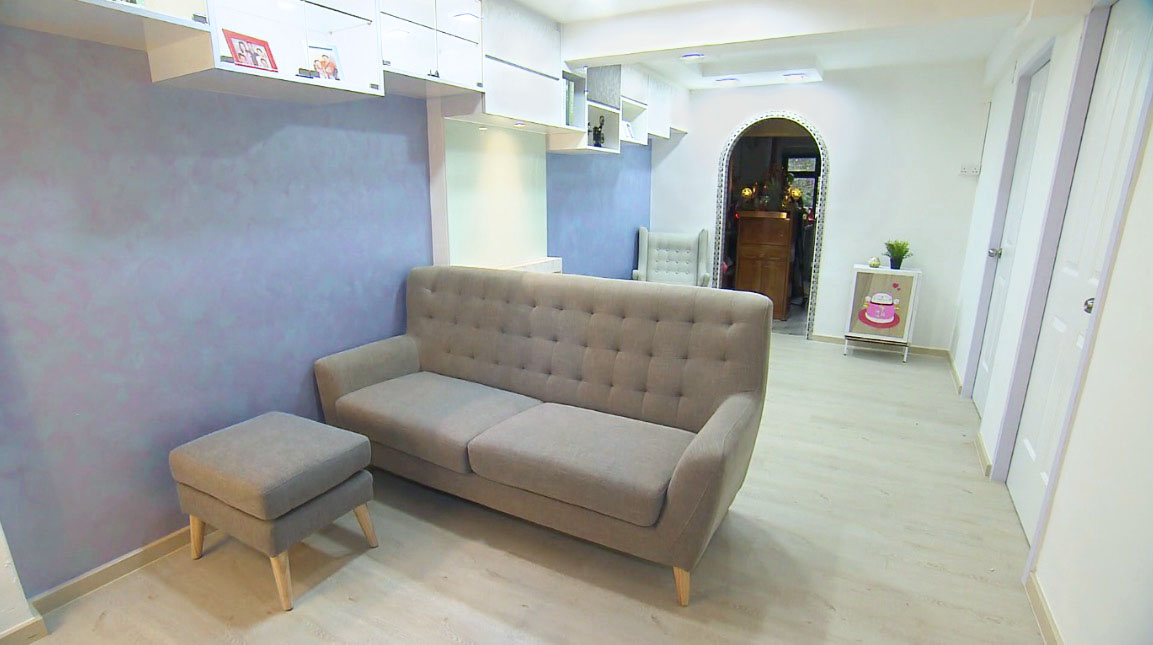 A Gift for Mum S2 - Episode 8 (Channel 8) | Product Seen: [Kayama 3–Seater Sofa & Kayama Ottoman]