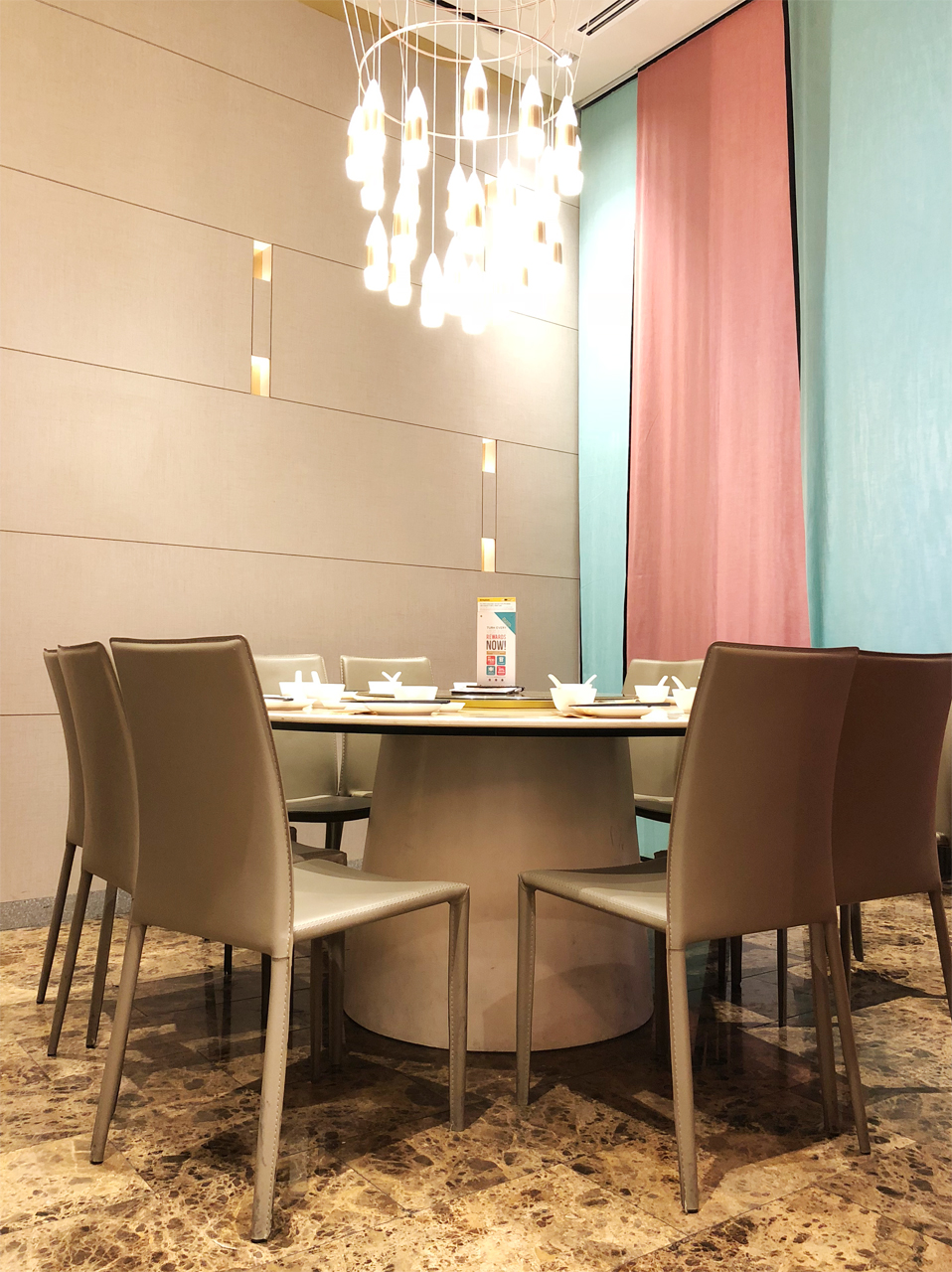 Canton Paradise - Marina Bay Sands |Product Seen: [Anson Chair]