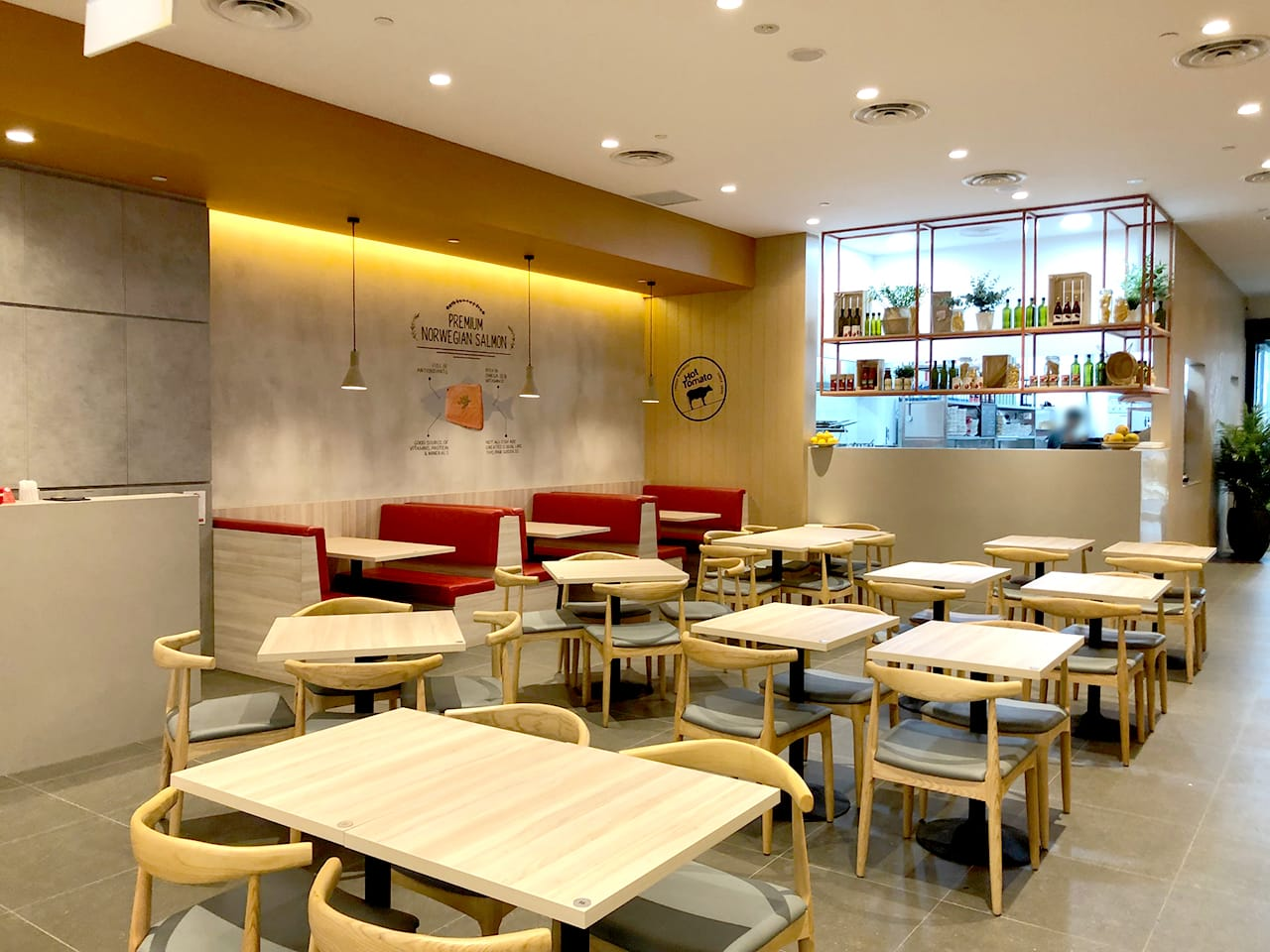 Hot Tomato - Paya Lebar Quarter | Product Seen: [Osaka Sidechair]
