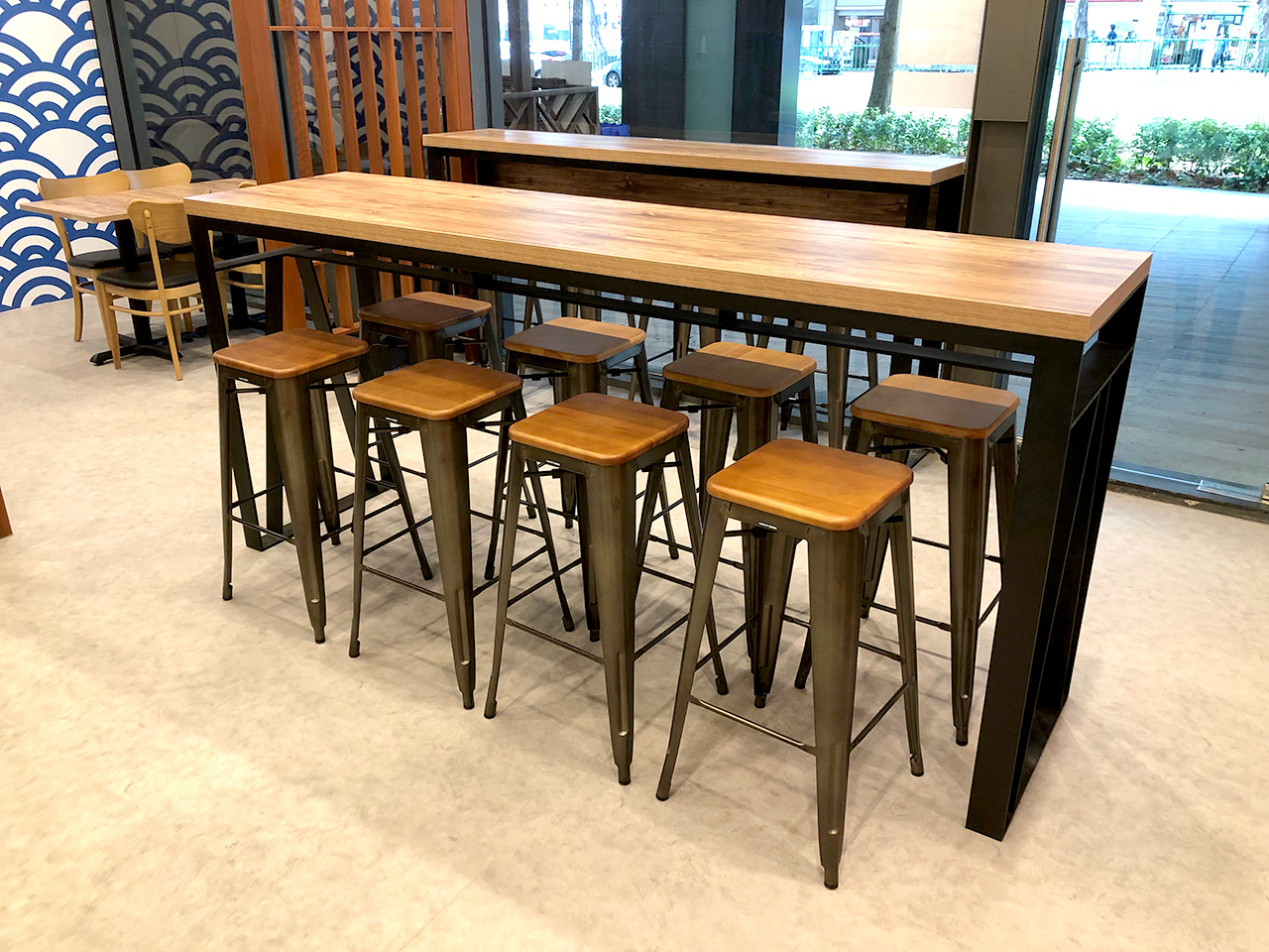Men-Tei Ramen - Wilkie Edge | Product Seen: [Alex Barstool SH650 – Wood Seat]