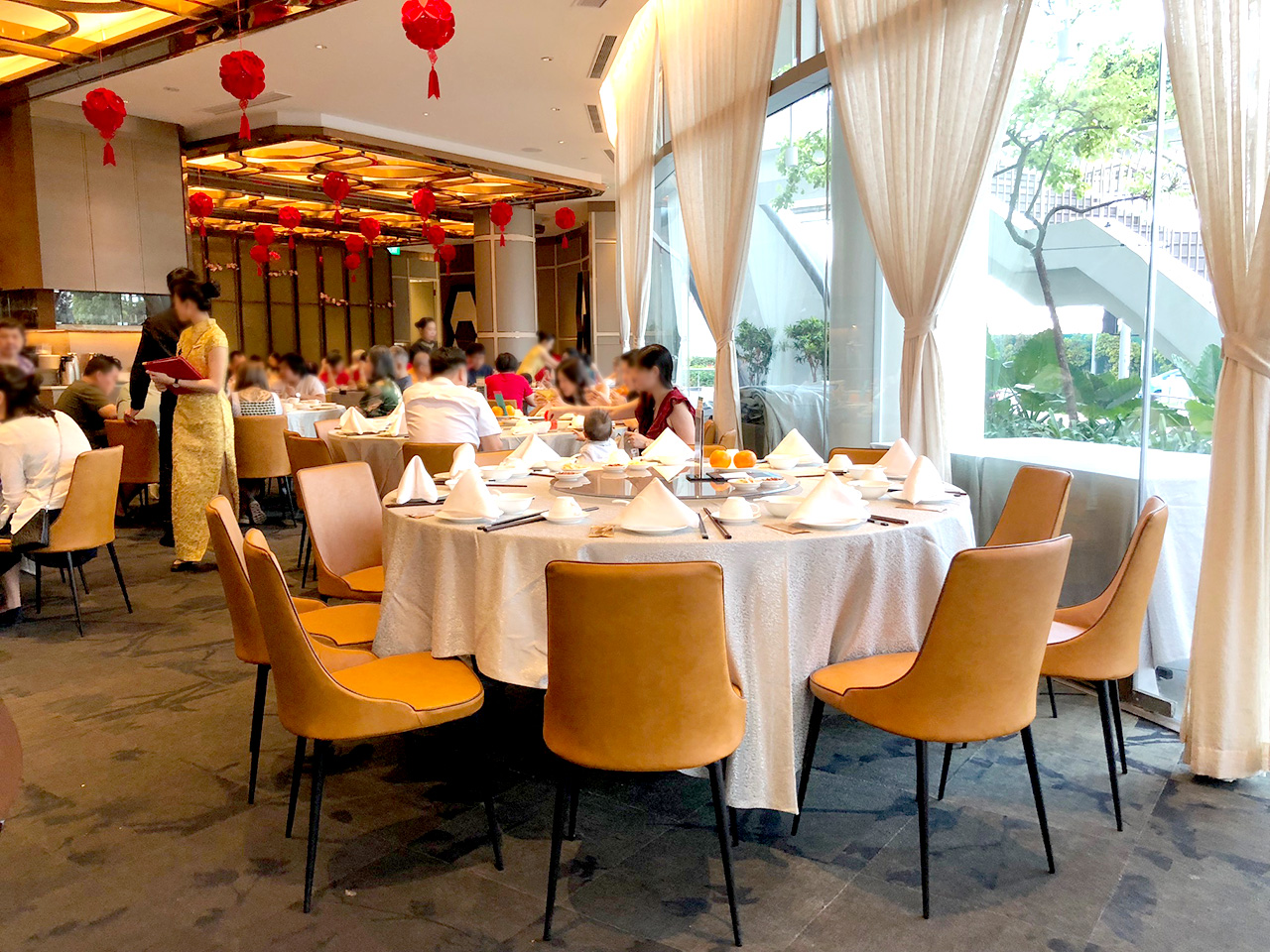 Paradise Teochew Restaurant - VivoCity | Product seen: [Dion Sidechair]