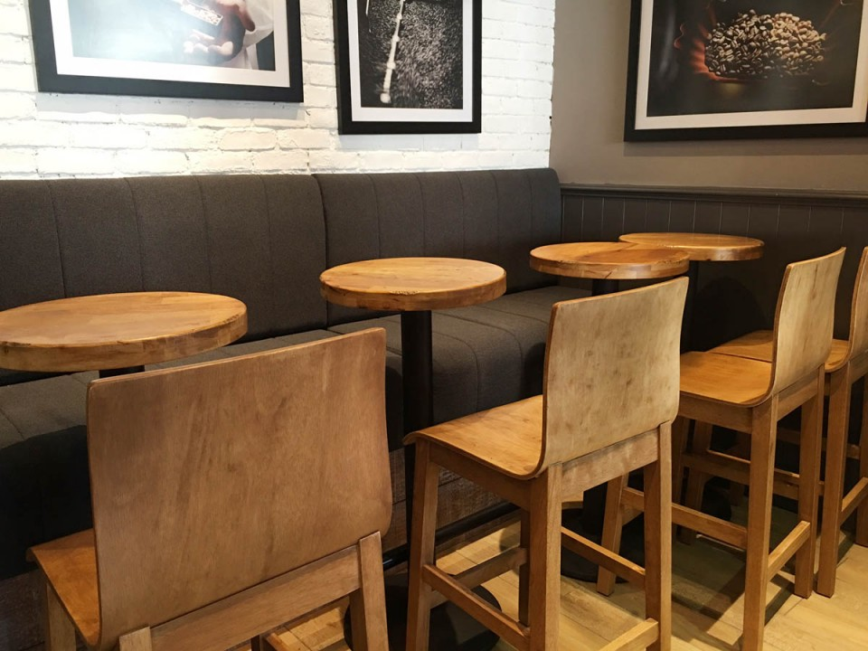 Coffee Joint - Raffles City  |  Products seen: [Kai Barchair – Veneer<br />