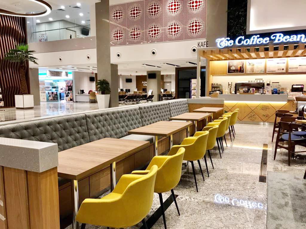 The Coffee Bean & Tea Leaf - Sunway Medical Centre, Selangor, Malaysia | Product Seen: [Jonah Armchair]