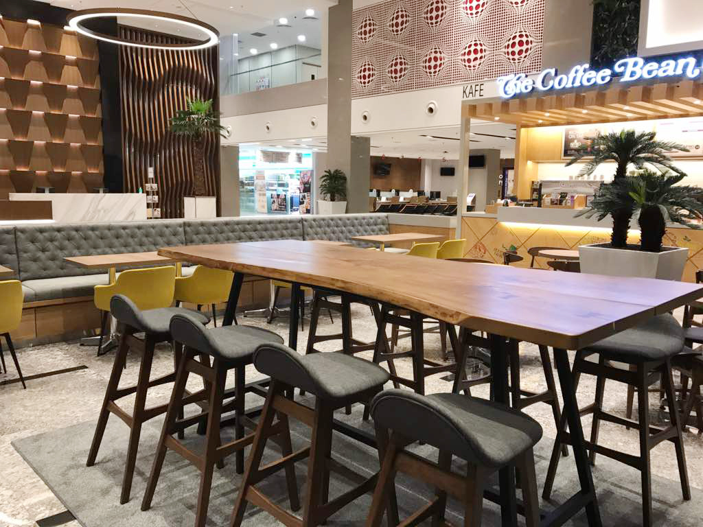 The Coffee Bean &amp; Tea Leaf - Sunway Medical Centre, Selangor, Malaysia | Product Seen: [ Jazz Barstool – SH750]<br />
