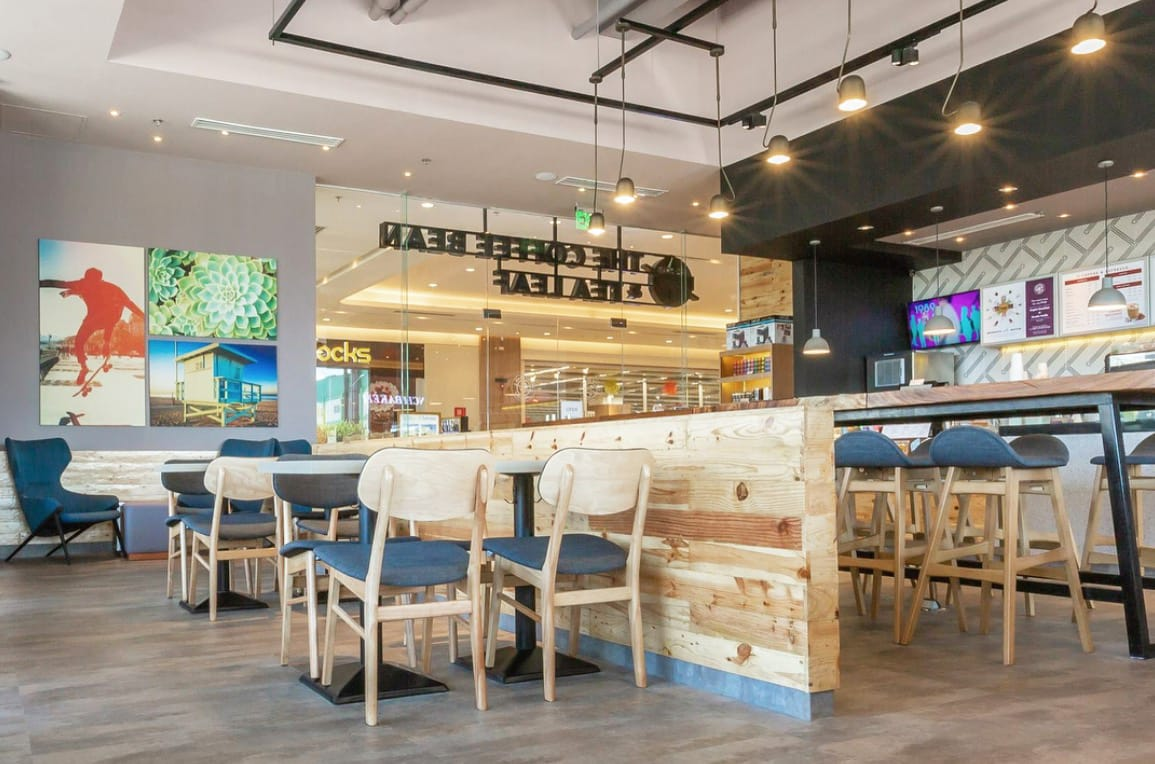 CBTL - W Mall , Manila (Philippines) | Product Seen: [Anderson Bar Table – Customisable, Jazz Barstool – SH600, Duxton Chair - Natural & Elias Lounger]