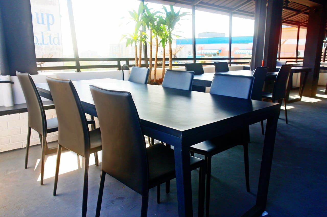 The Yama Hotel Phuket (Rooftop Bar) - Yangon, Myanmar| Product Seen: [Jazz Barstool – SH750 & Anson Chair]