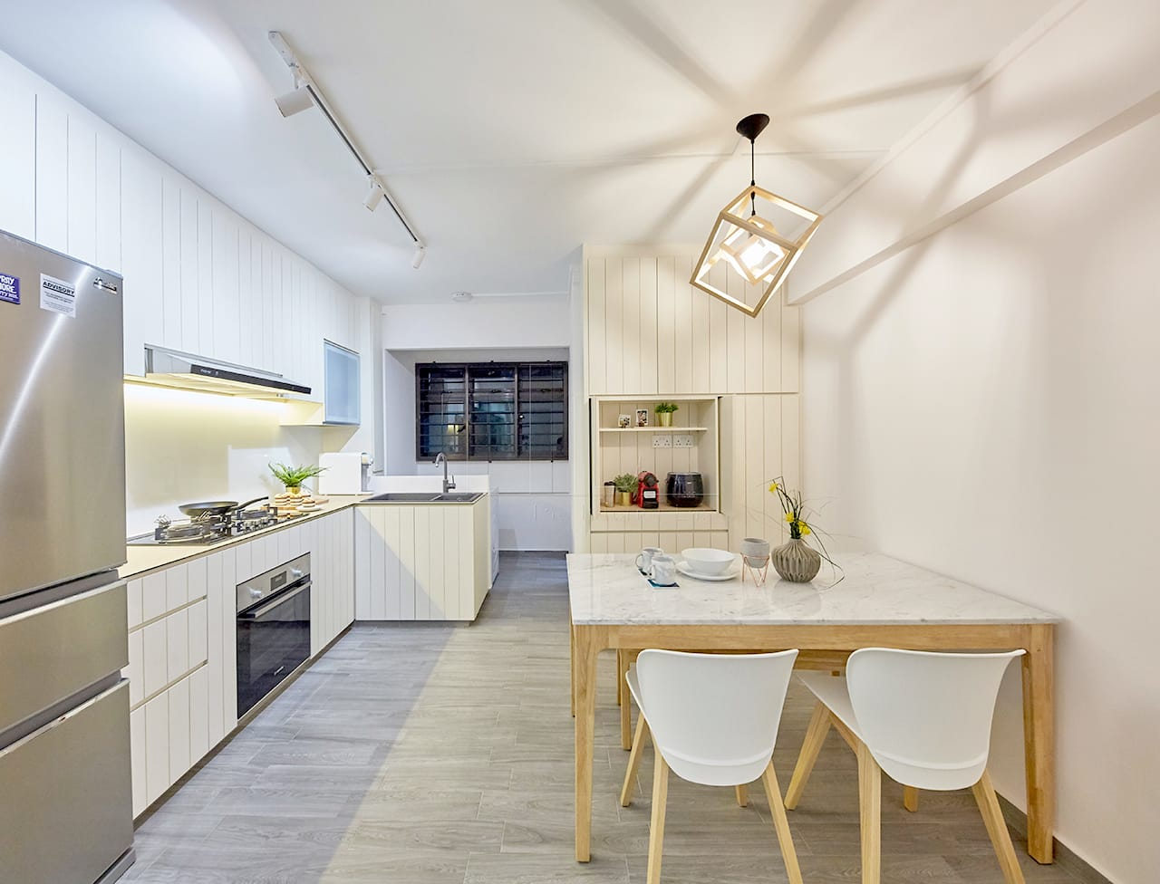 Minimalist Scandinavian Hdb Kitchen