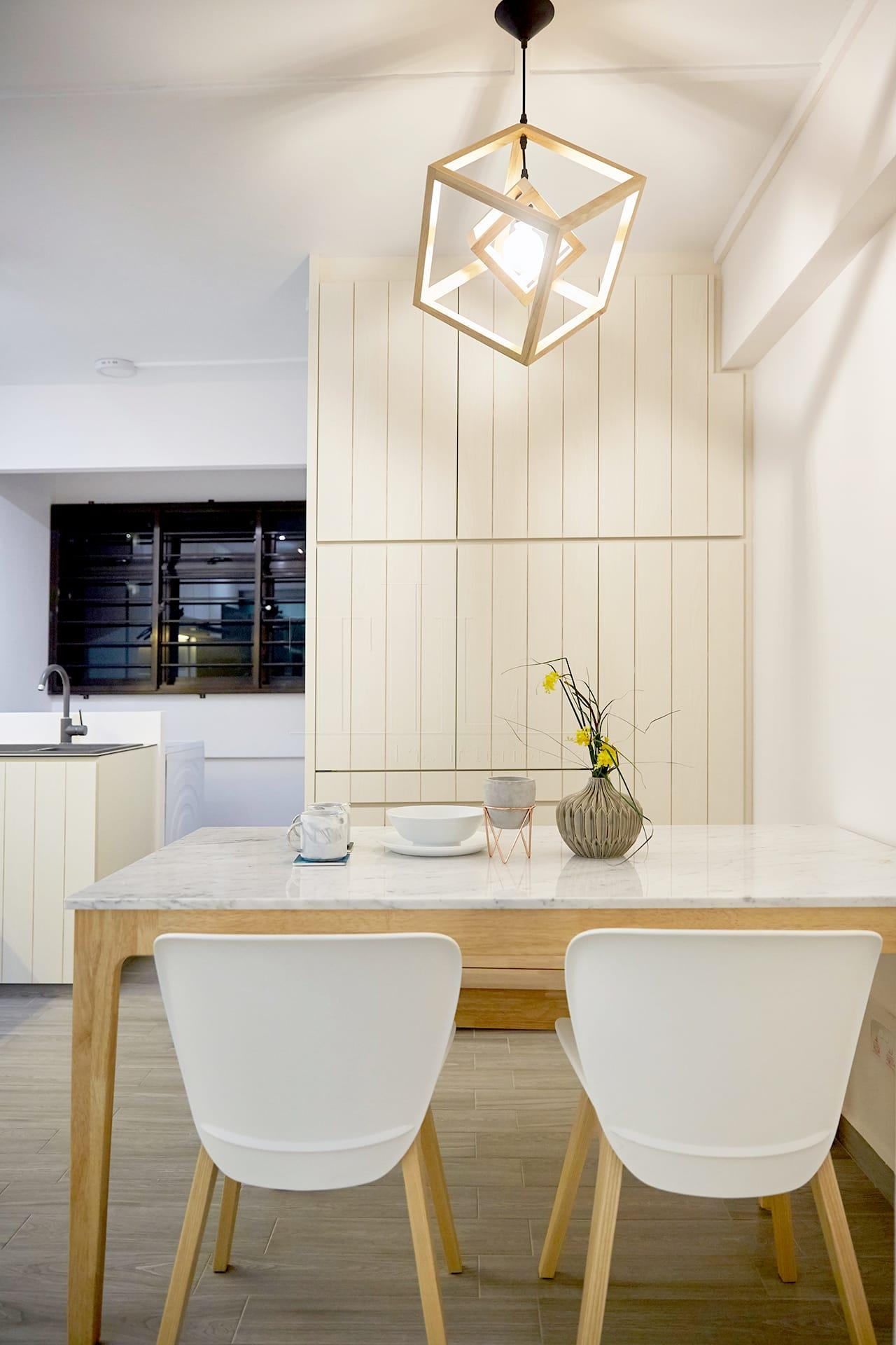 Minimalist Scandinavian Hdb Kitchen