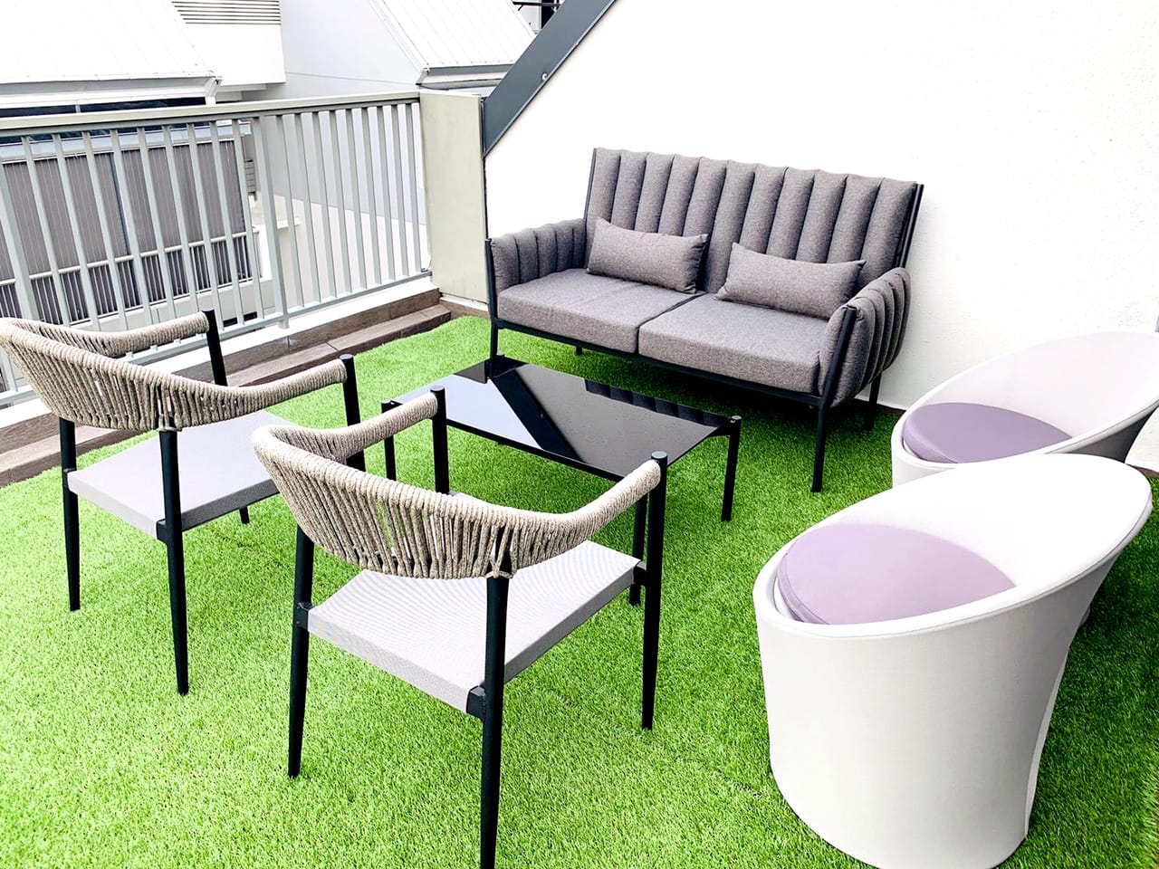 Synthetic Grass Carpet Comfort Design Furniture