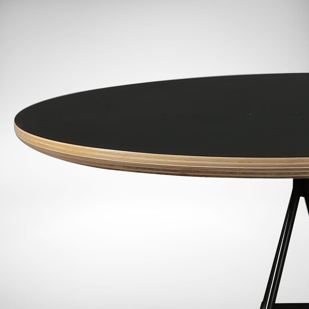 Laminated Tabletop With Natural Plywood Edging Comfort
