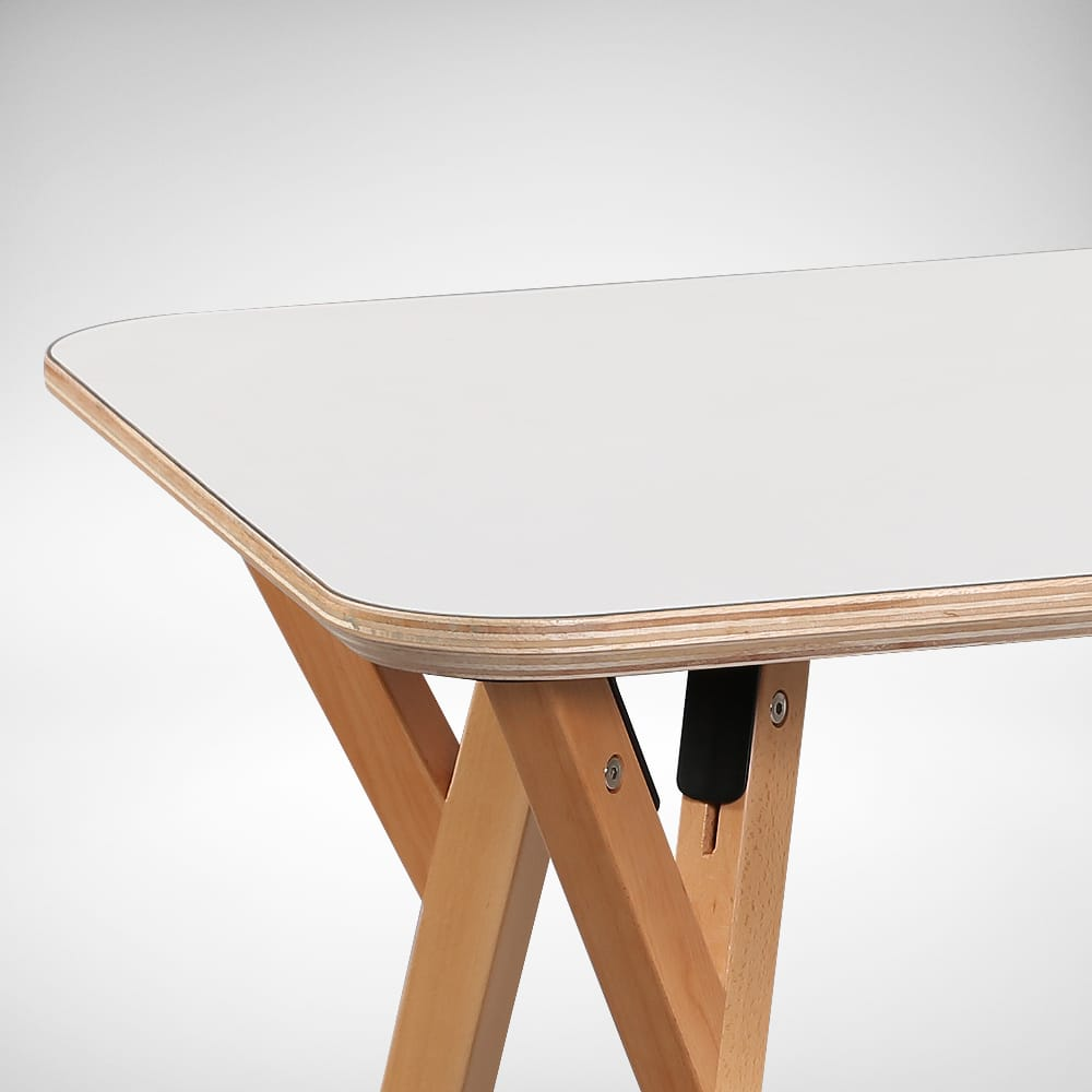 Plywood Edging seen in Hatsuro Dining Table