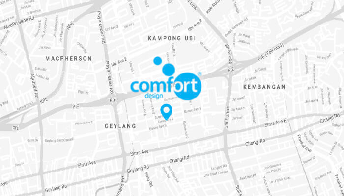 Comfort Furniture on Maps
