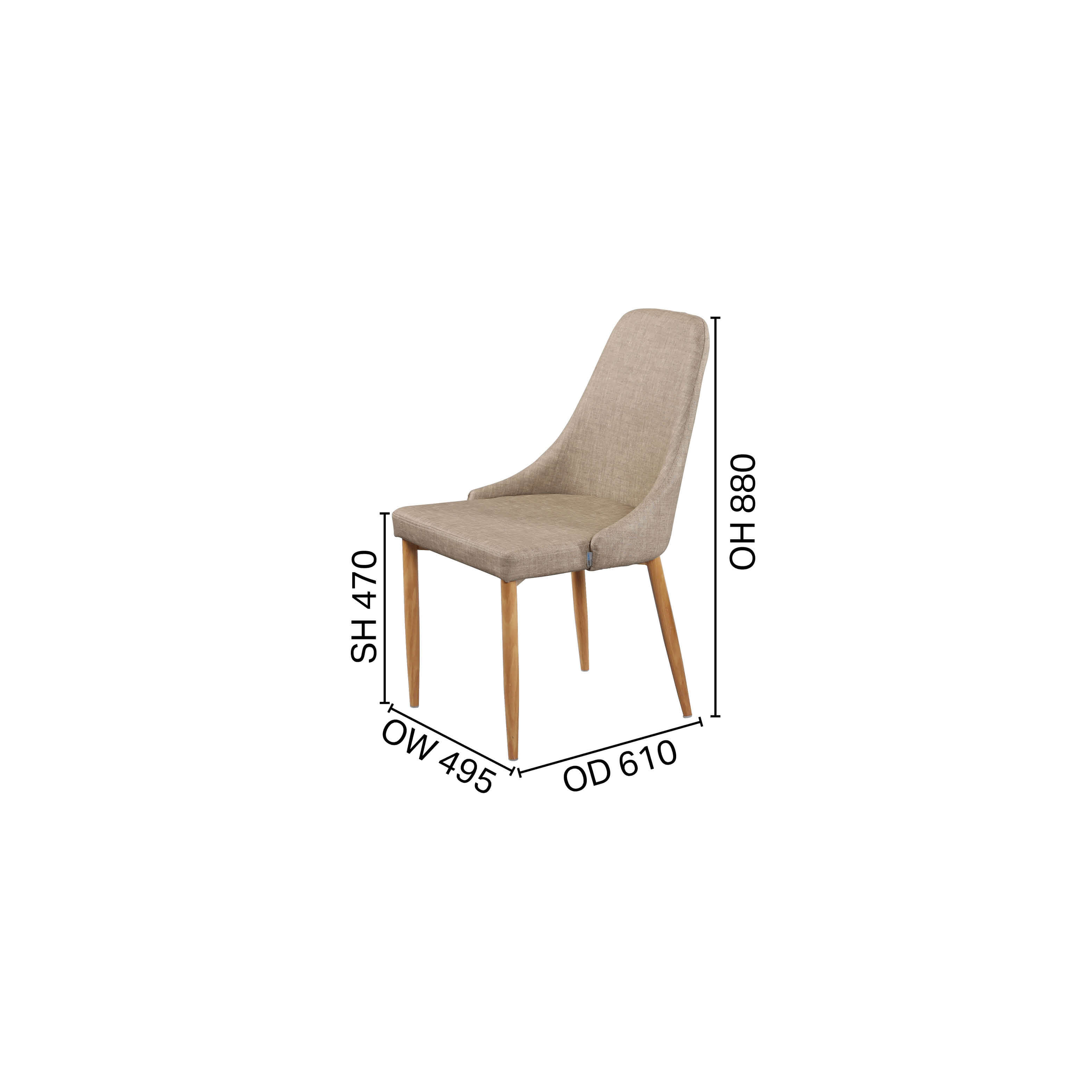 Beatrice Side chair - V2