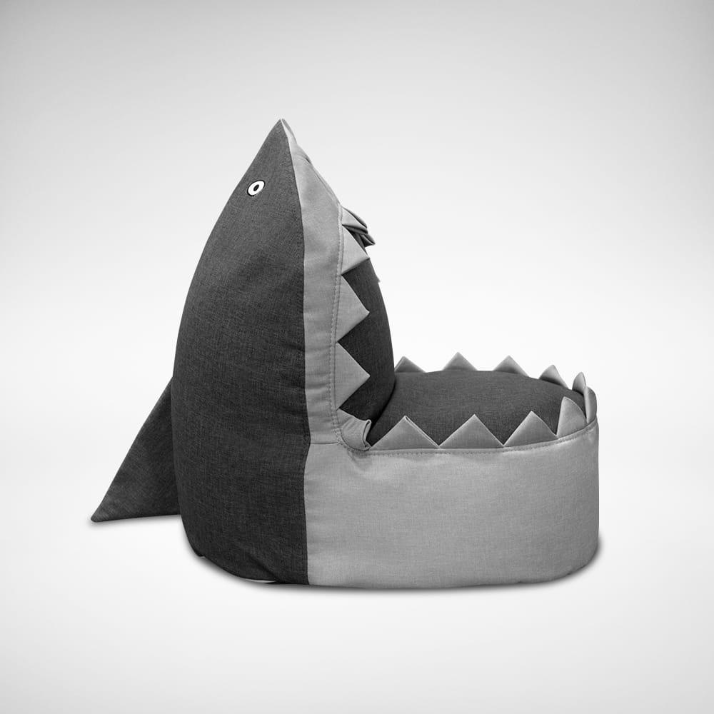 Shark Kid S Beanbag Comfort Design The Chair Table People