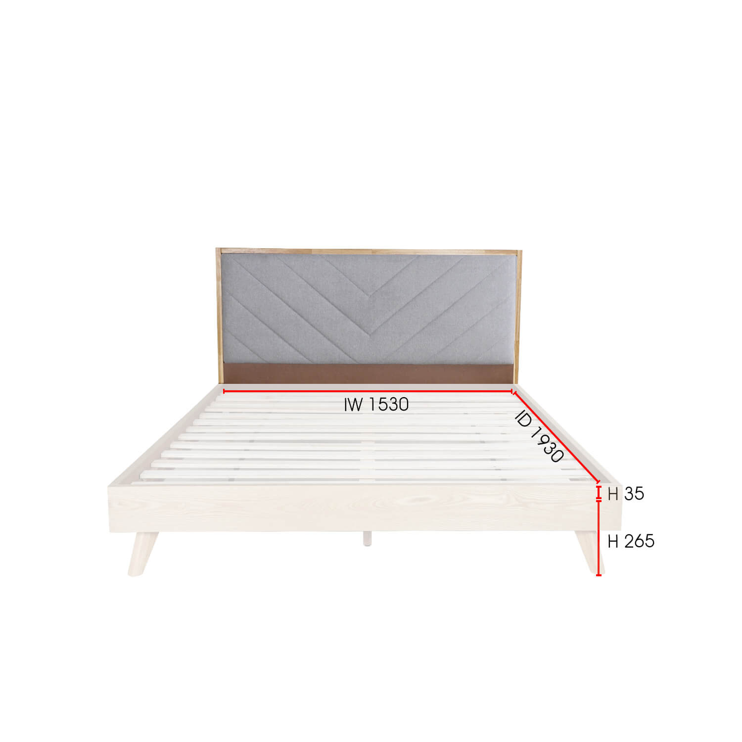 Janelle Bed Frame - Queen