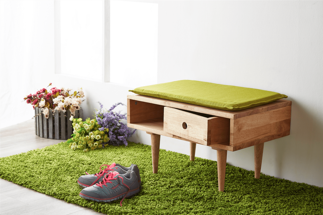 [Flux Side Table / Shoe Bench]