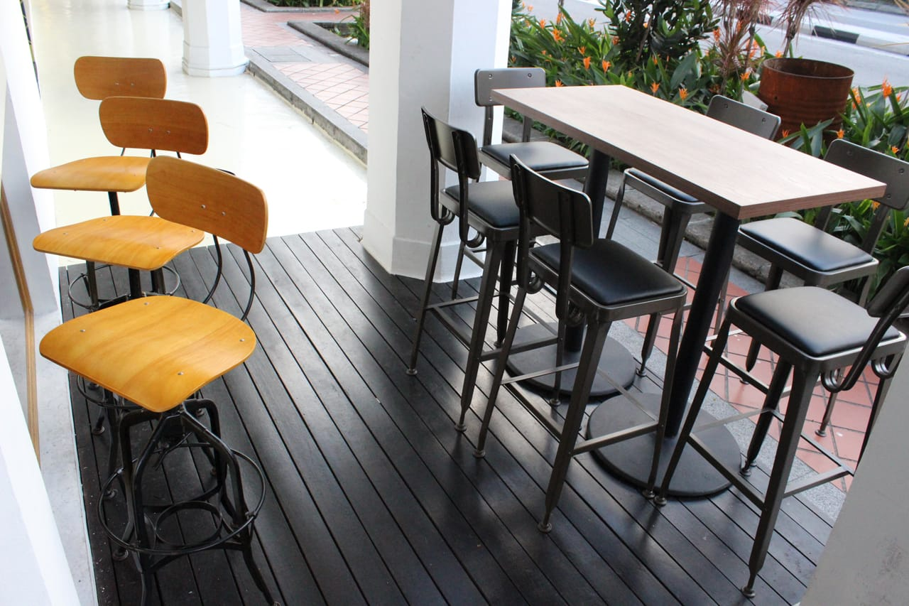 The Shaven Cat Pte Ltd - 21 Tanjong Pagar Road | Products seen: [Lick Barchair & Adolf Barchair]<br />