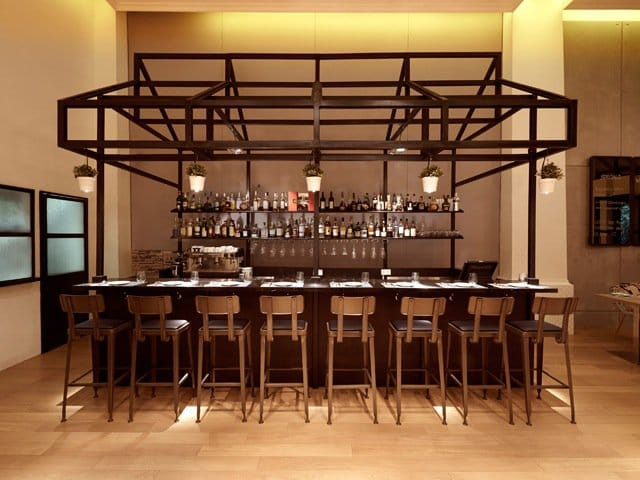 Pidgin Kitchen &amp; Bar | Products seen: [Lick Barchair]<br />