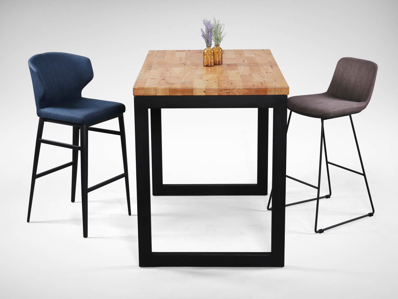 Match with [Fondue Barchair – SH750 & Uni Bar Table w/ Butcher Top – Customisable]