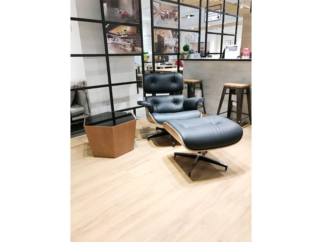 Eames lounge set replica comfort design the chair for Design stuhl replik