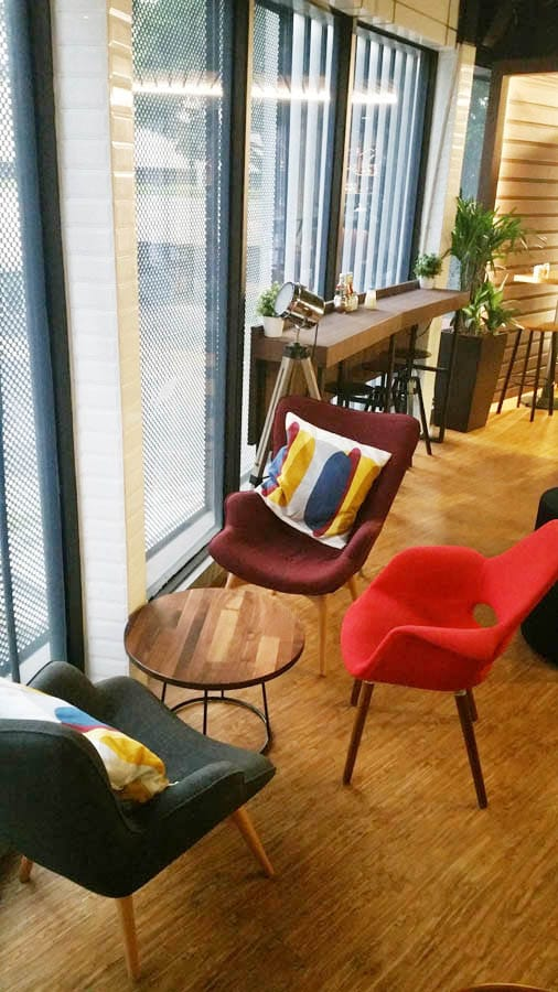 Travelodge Hotel - International Plaza, Anson Road | Products seen: [Sakai Plain Armchair &amp; Brandy Lounger]<br />