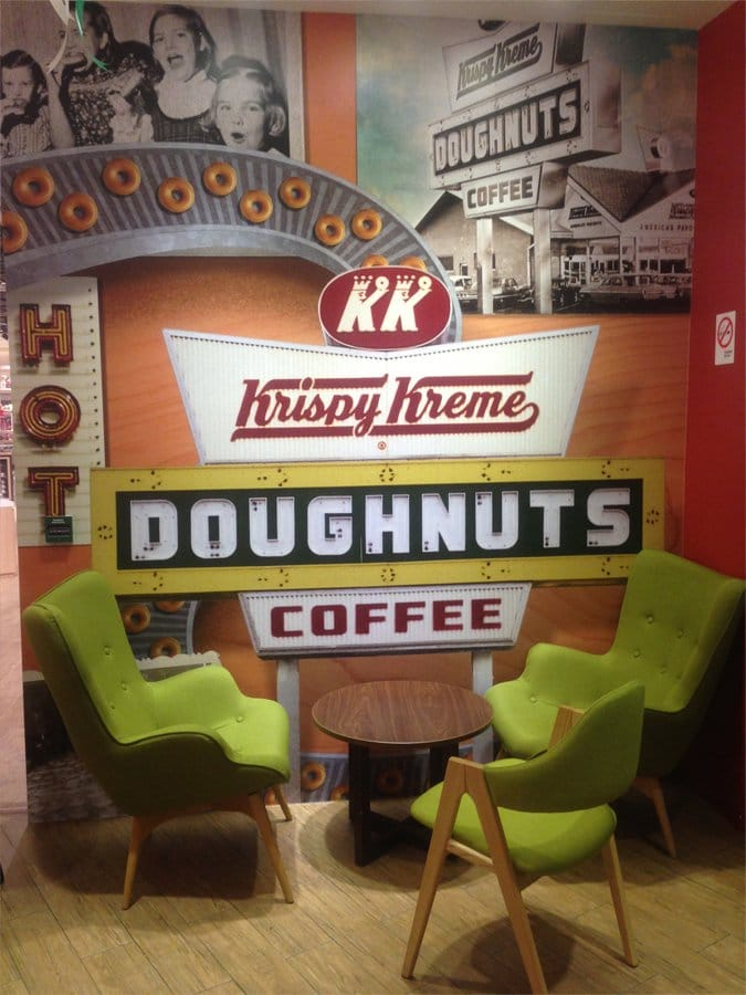 Krispy Kreme - Ion Orchard | Products seen: [Brandy Lounger &amp; Arctic Chair]<br />
