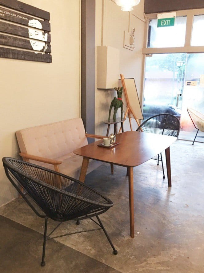 Awfully Chocolate - Jalan Kayu | Products Seen: [Breathe - 3-legged Chair &amp; Agatha 2 Seater Sofa]<br />