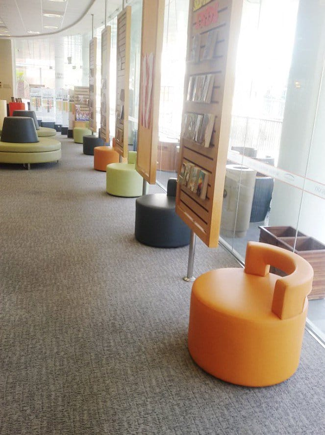 Tanglin Trust Secondary School - Portsdown Road | Product Seen: [Aspire 1 Seater Sofa &amp; Customised Backrest Pouf]<br />