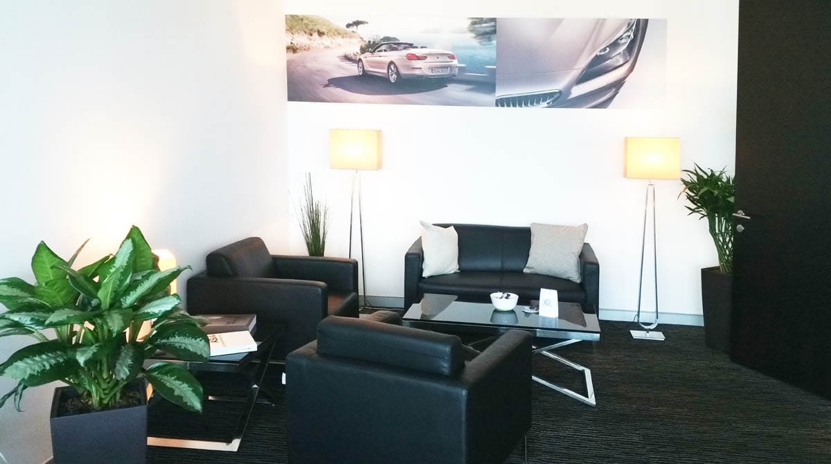 BMW Group - Asia - Keppel Bay Tower | Product seen: [Camellia 1 & 2-Seater Sofa & Session Coffee Table - Square & Rectangle]<br />