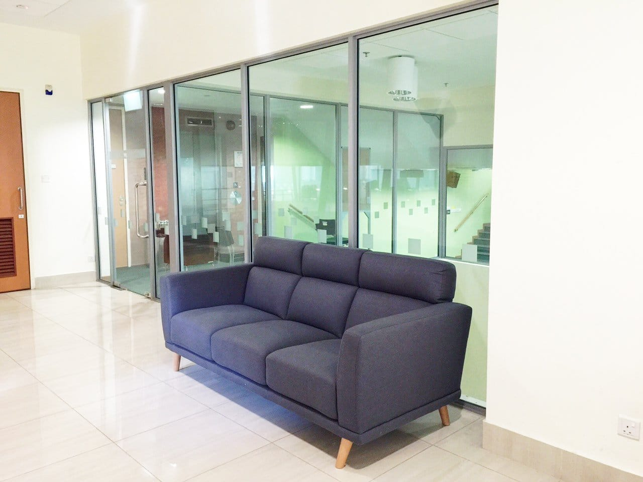 National Institute of Education (Singapore) - 1 Nanyang Walk | Product Seen: [Neuron 3 Seater Sofa – Fabric]<br />
