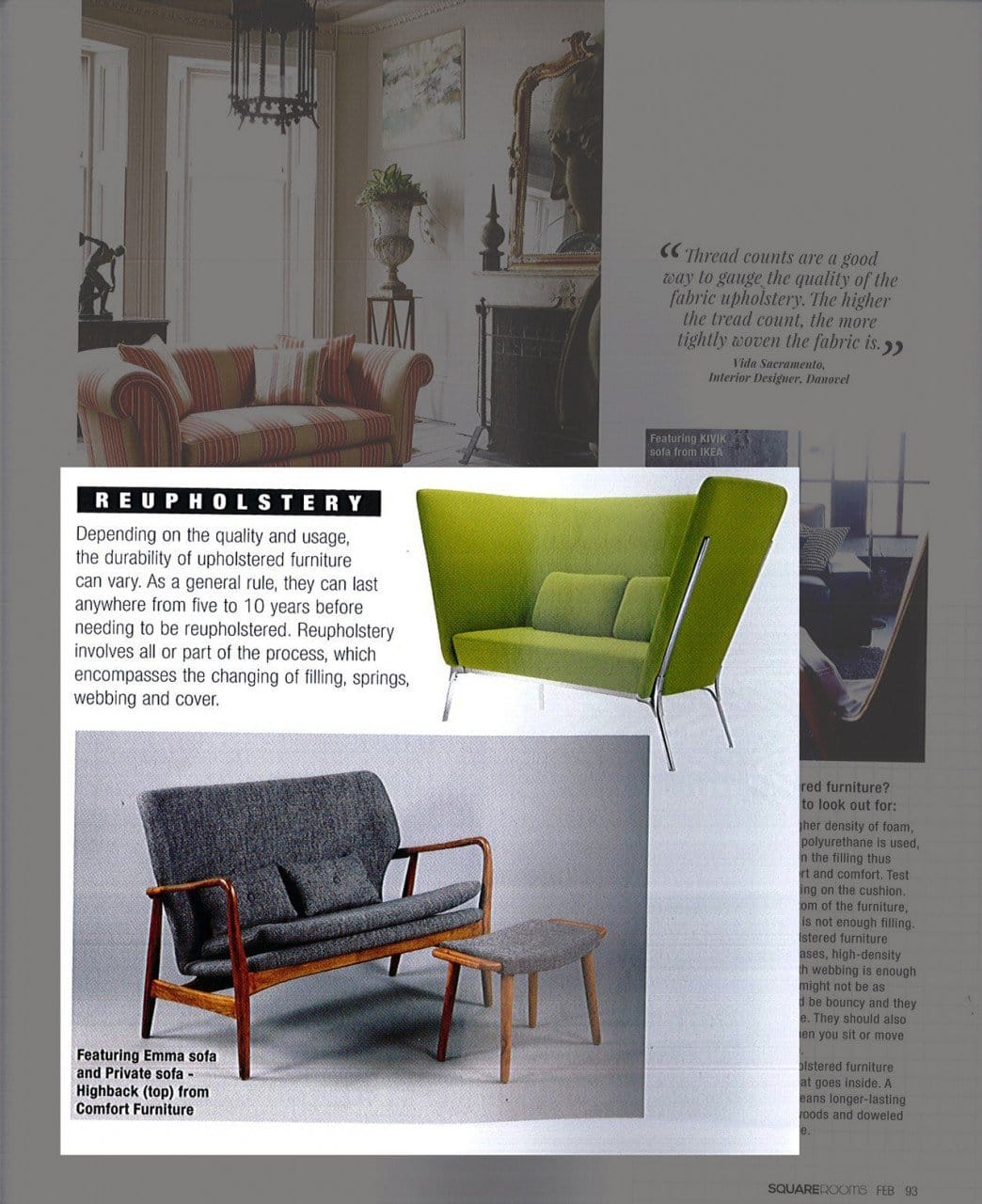As featured on SquareRooms - February 2015 Issue<br />
