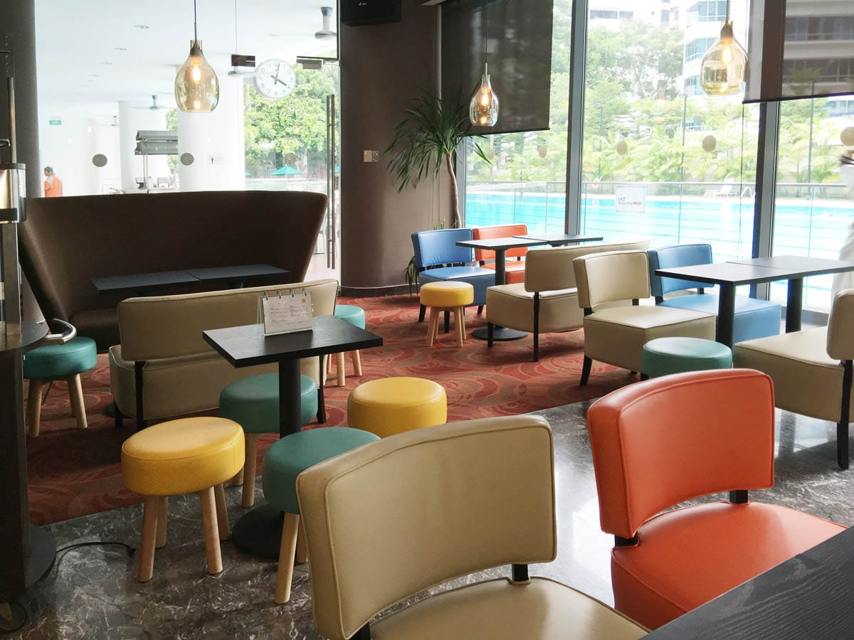 3Bars @ Chinese Swimming Club | Products seen: [Private Sofa - Highback, Leopard 1 &amp; 2-Seater Sofa, Tapioca Stool &amp; Customised Table Top in Cosson Table Leg H730]<br />