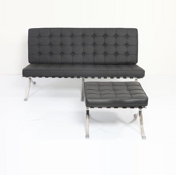 Barcelona Replica 2 Seater Sofa