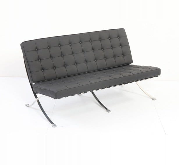 Barcelona sofa replica barcelona daybed replica furniture for Design sofa replica