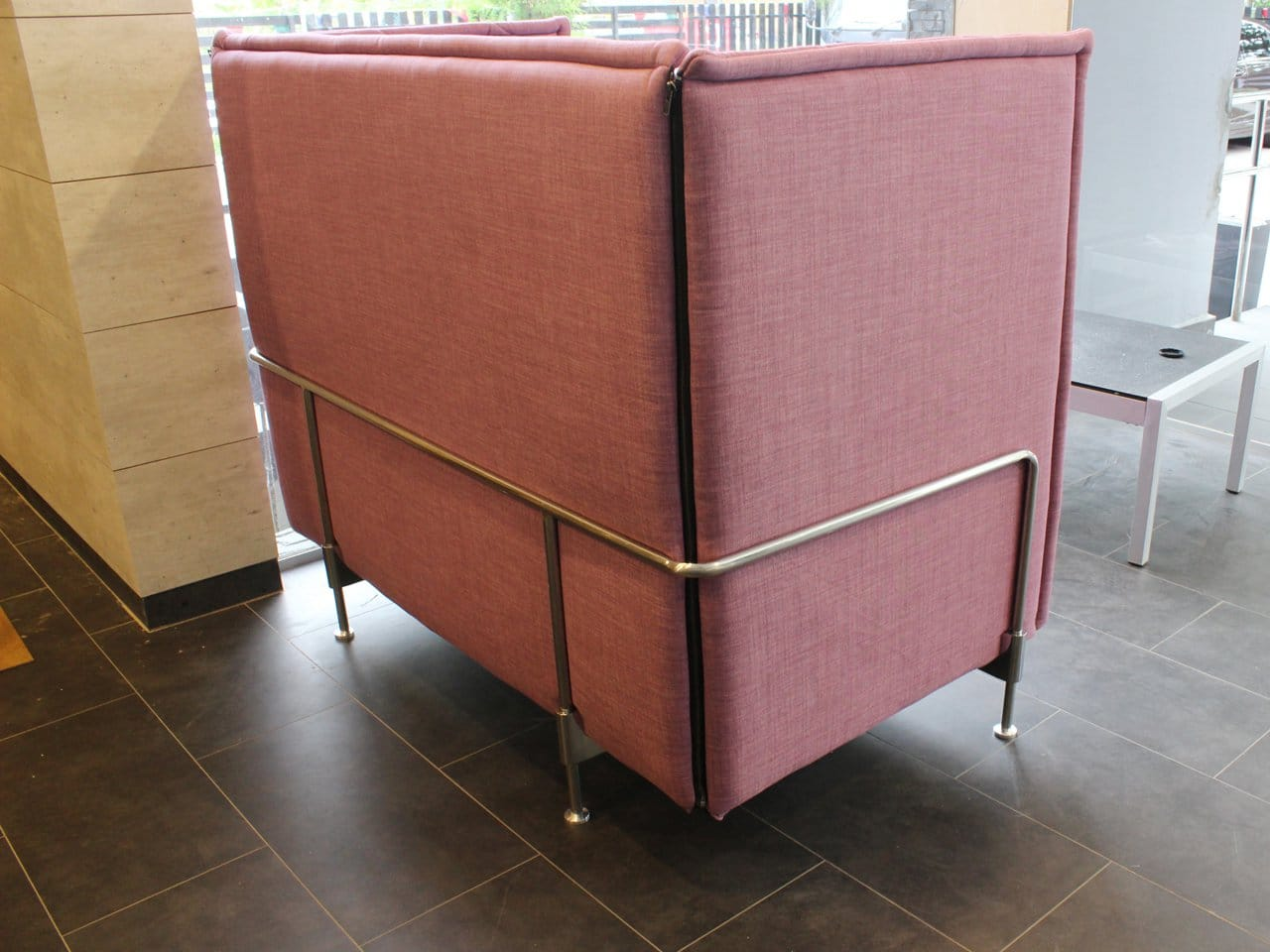 Enclosed 2 Seater Sofa Midback Comfort Design The