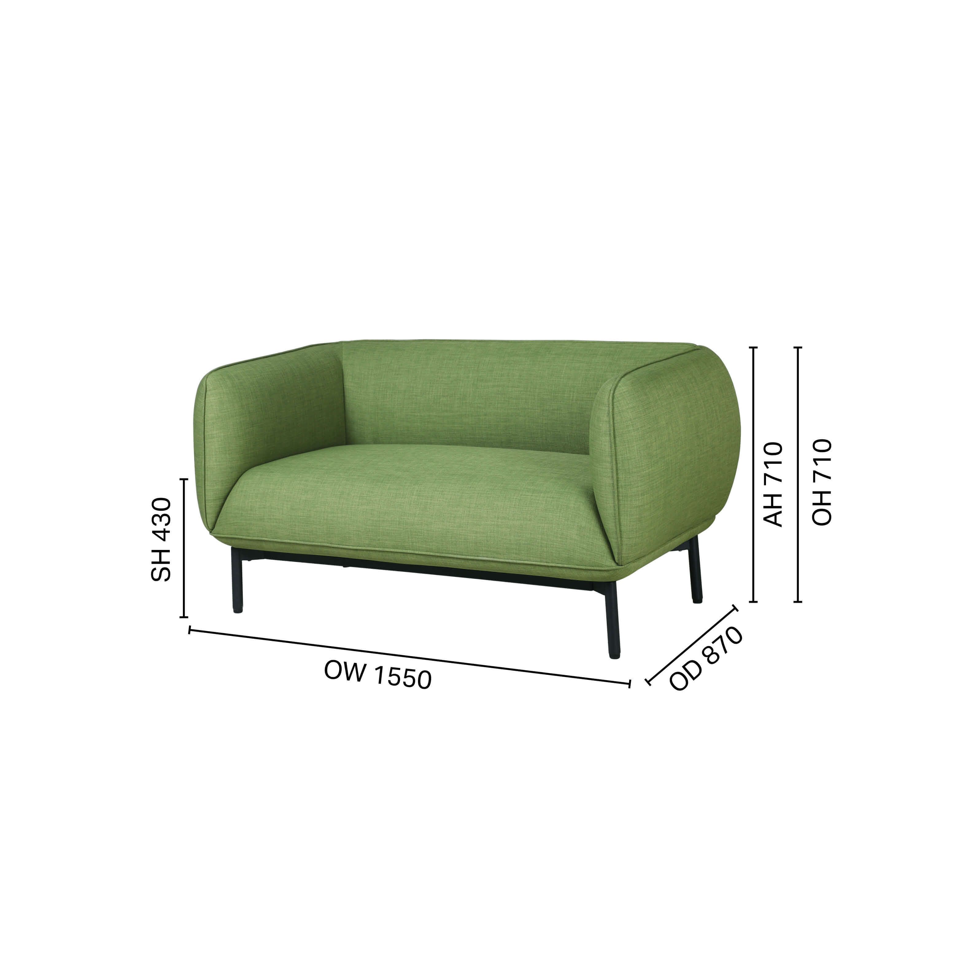 Lindsey 2–Seater Sofa