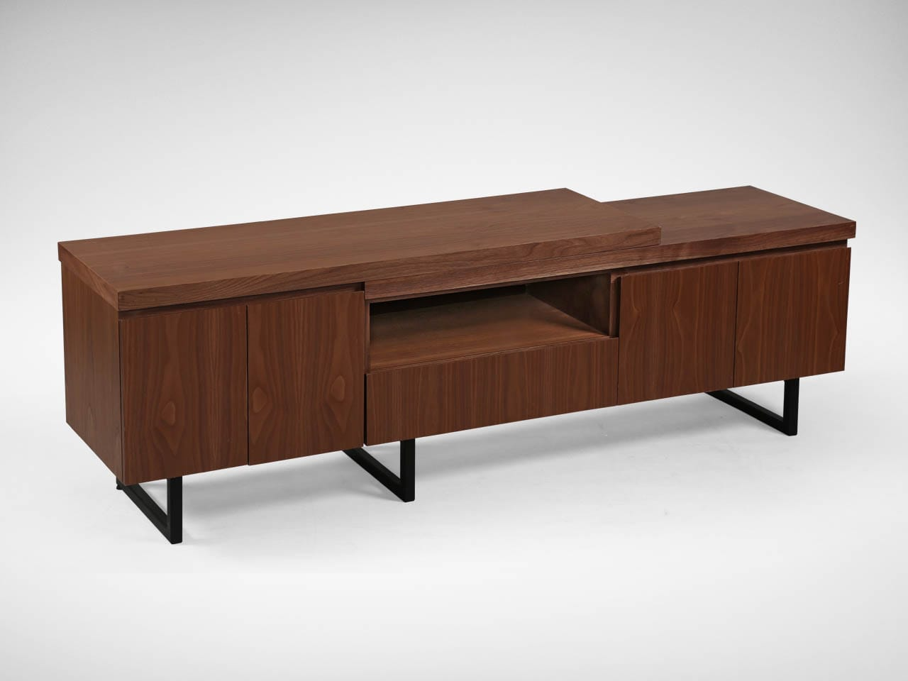 Novak Tv Console Walnut W1710 Comfort Design The Chair  # Table Televiseur