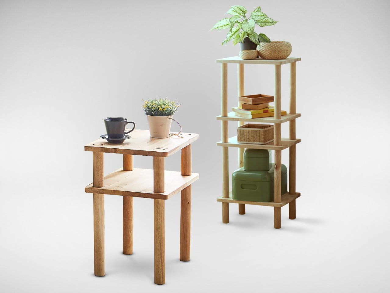 Hakone Small Coffee Table Shelf Comfort Design The Chair Table People