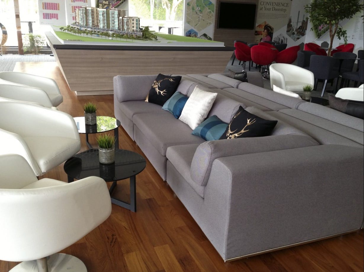Hillford Showflat - Jalan Jurong Kechil | Products seen: [Minky Sofa Set & Lola Coffee Table – Small/Big]<br />