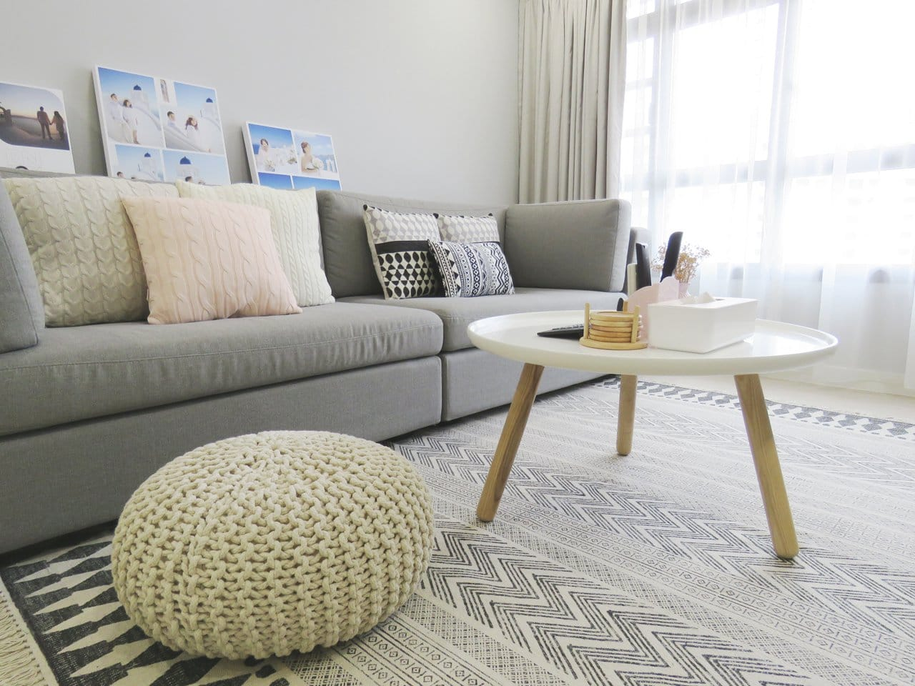 Apartment - Fernvale Rivergrove | Product Seen: [Lucy Coffee Table – Big]<br />