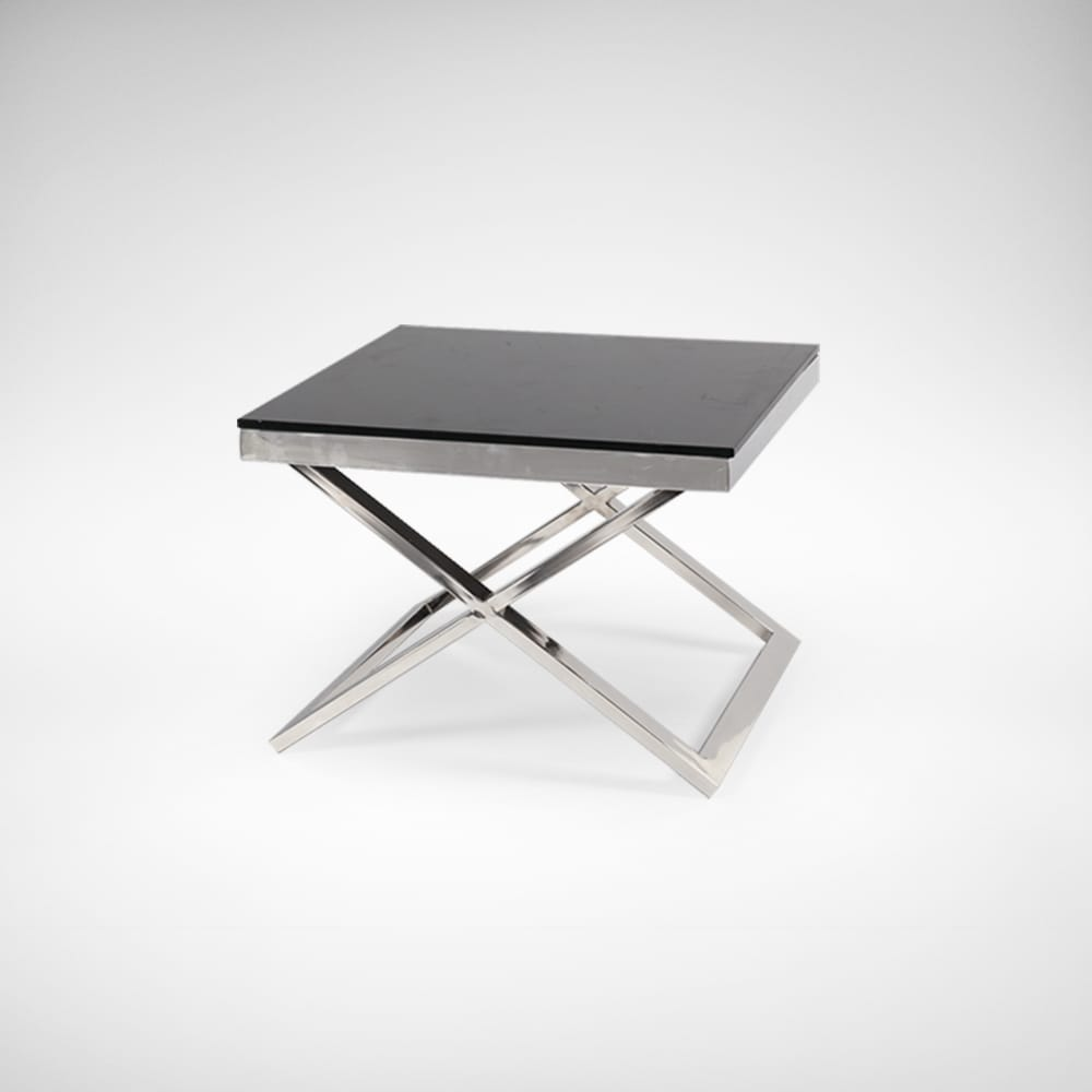 Solid Stainless Steel Coffee Table: Session Coffee Table – Square