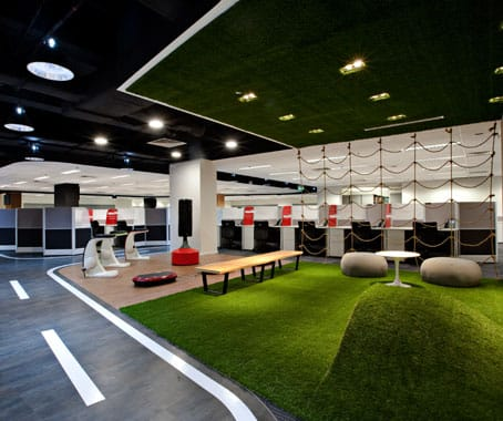 Singtel Com Centre - Somerset | Products seen: [Nelson Bench, Pebble & Megan Coffee Table]<br />