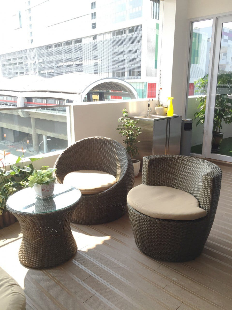 Wong Fong Engineering Works Pte Ltd 79 Joo Koon Circle | Product Seen: [Tirra Outdoor Coffee Table & Tirra Outdoor Chair]<br />
