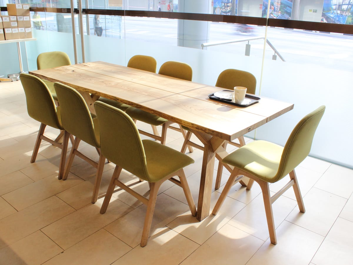 Cedele - 71 Robinson Road | Products seen: [Dock Dining Table]