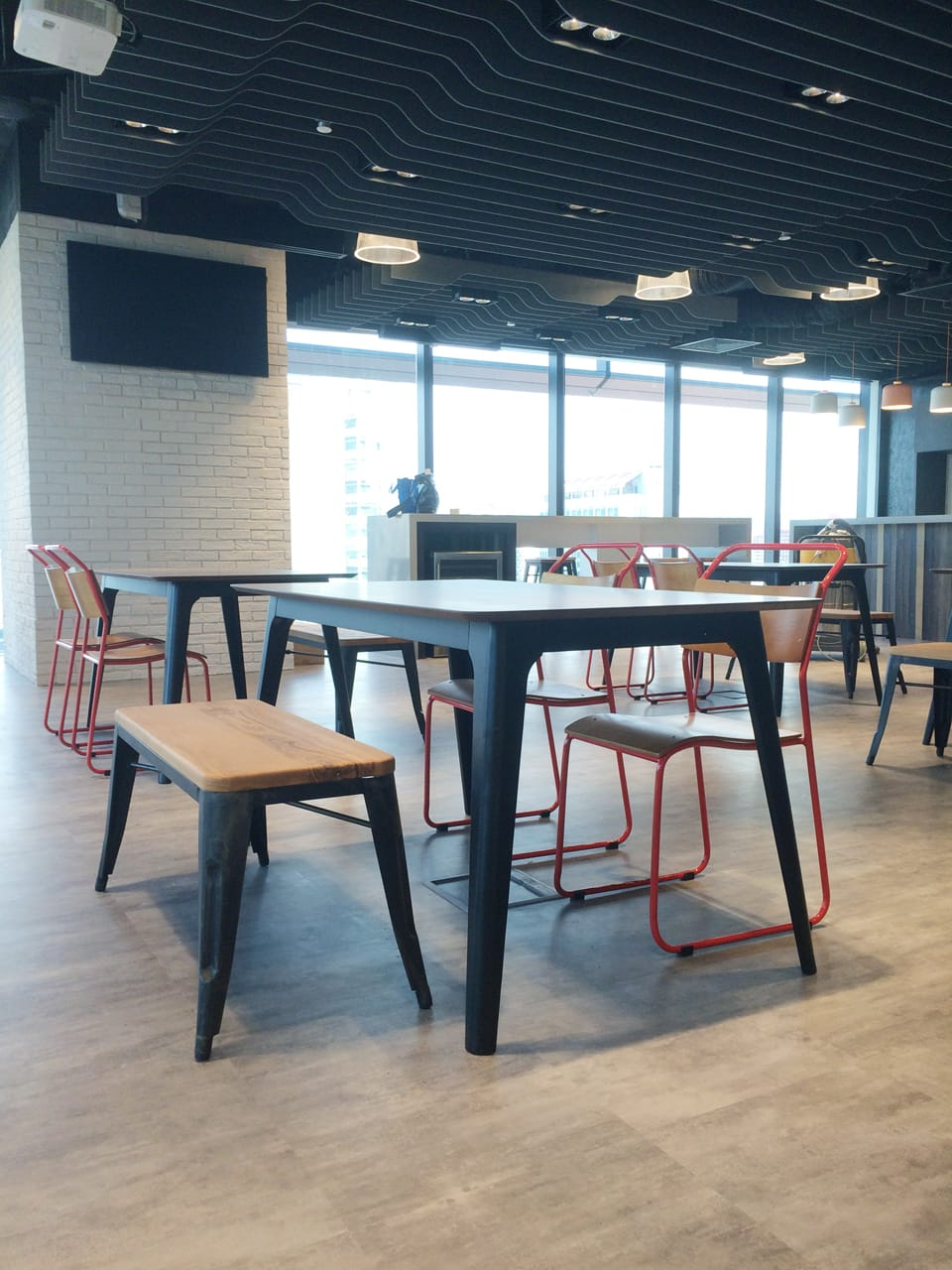 Expedia - New Bridge Road | Products Seen: [Fuji Dining Table – W1500 & Dojo Bench No Back - Wood + Rust]